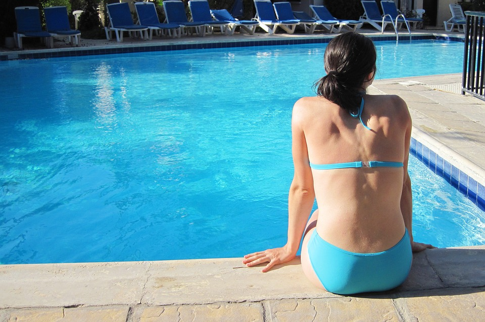 La coupe menstruelle à la piscine